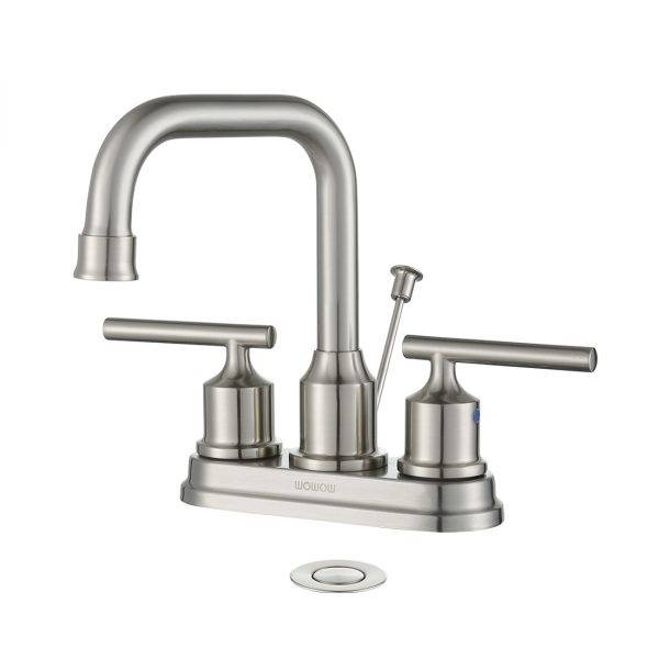 WowOW Centerset Bathroom faucet nge-Pop-Up Drain Assembly