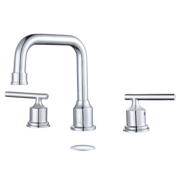 Widespread 2-Handle Bathroom Faucet In Chrome