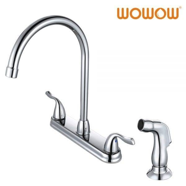 Wowow Separate Hot And Cold Kitchen Taps Chrome