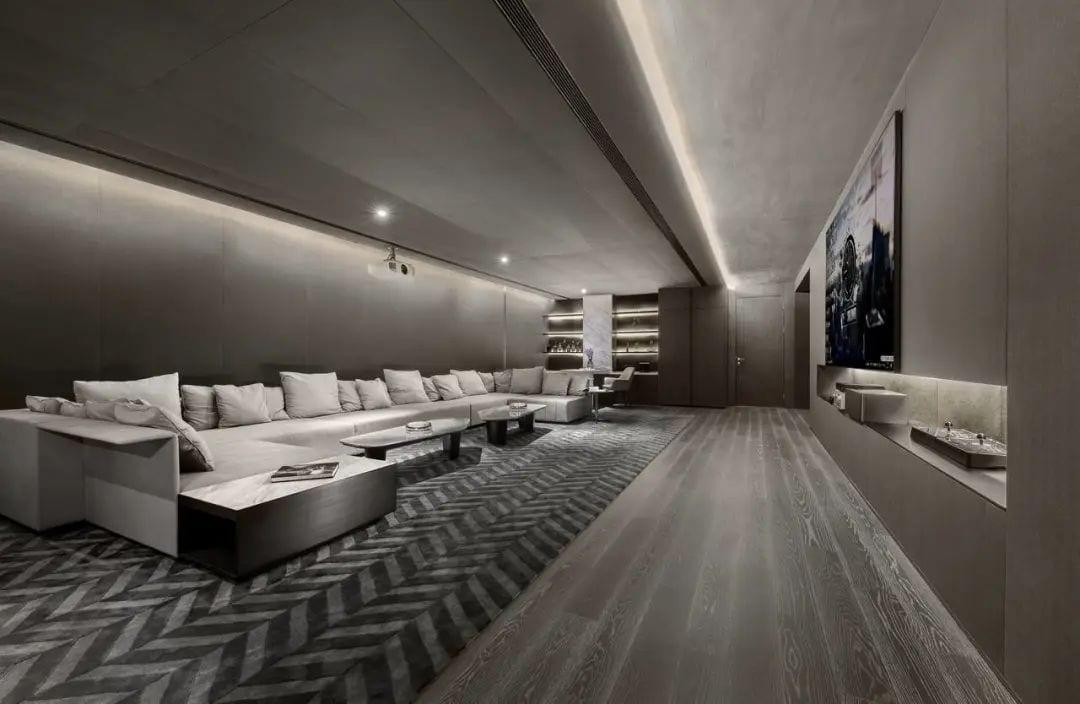 Original Concrete Texture Interpretation Of Luxury Quality Space Huanting Design
