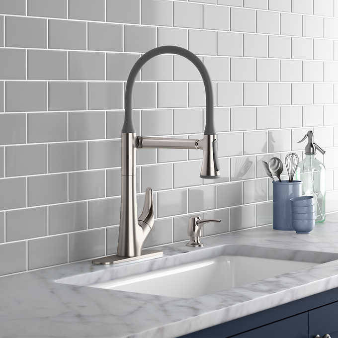 Famous Faucet Brands Installation Of Single Hole Faucet With Seven Steps