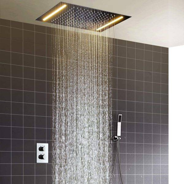 Led Rain Shower Multifunctional Shower With Constant Temperature