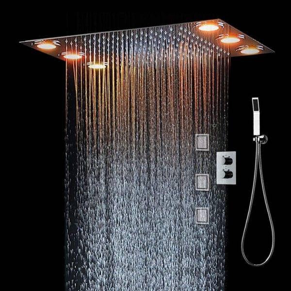 LED tuš sustav Višenamjenski tuš s konstantnom temperaturom