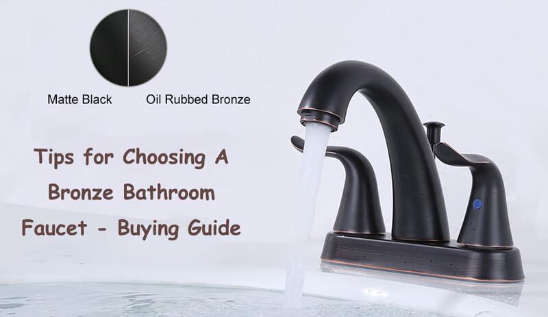 како да изберете бронзена чешма за бања
